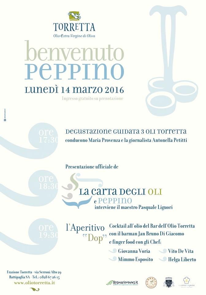 Benvenuto Peppino - Presentazione Carta degli Oli